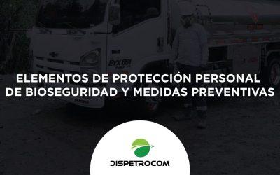 ELEMENTOS DE PROTECCIÓN PERSONAL DE BIOSEGURIDAD Y MEDIDAS PREVENTIVAS