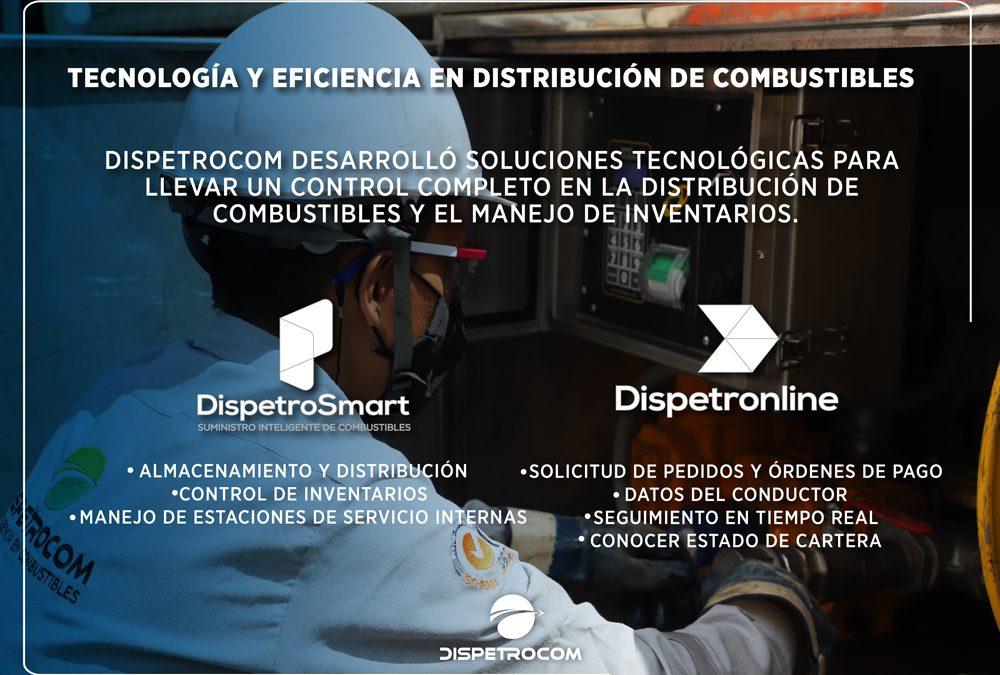 TECNOLOGÍA Y EFICIENCIA EN DISTRIBUCIÓN DE COMBUSTIBLES